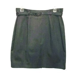 Limited skirt/size 12/gray/business casual